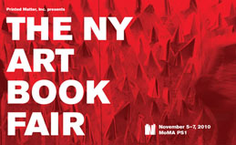 new york art book fair 2011
